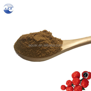 ISO Certificate Health-care products guarana powder /guarana extract