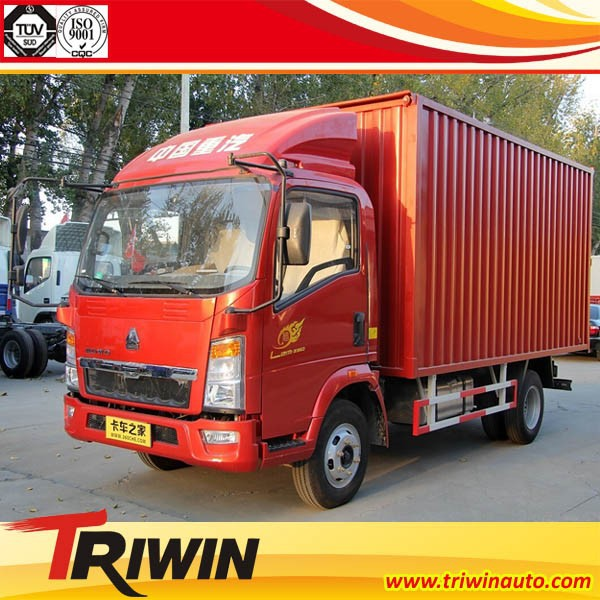 factory direct sale 4x2 drive wheel left right hand steering 100hp 79KW engine diesel euro4 mini cargo truck van