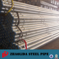ISO65 6.4 meter scaffolding galvanized iron pipe with high quality
