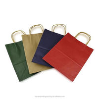Fashionable top sell waxed paper gift bag and box