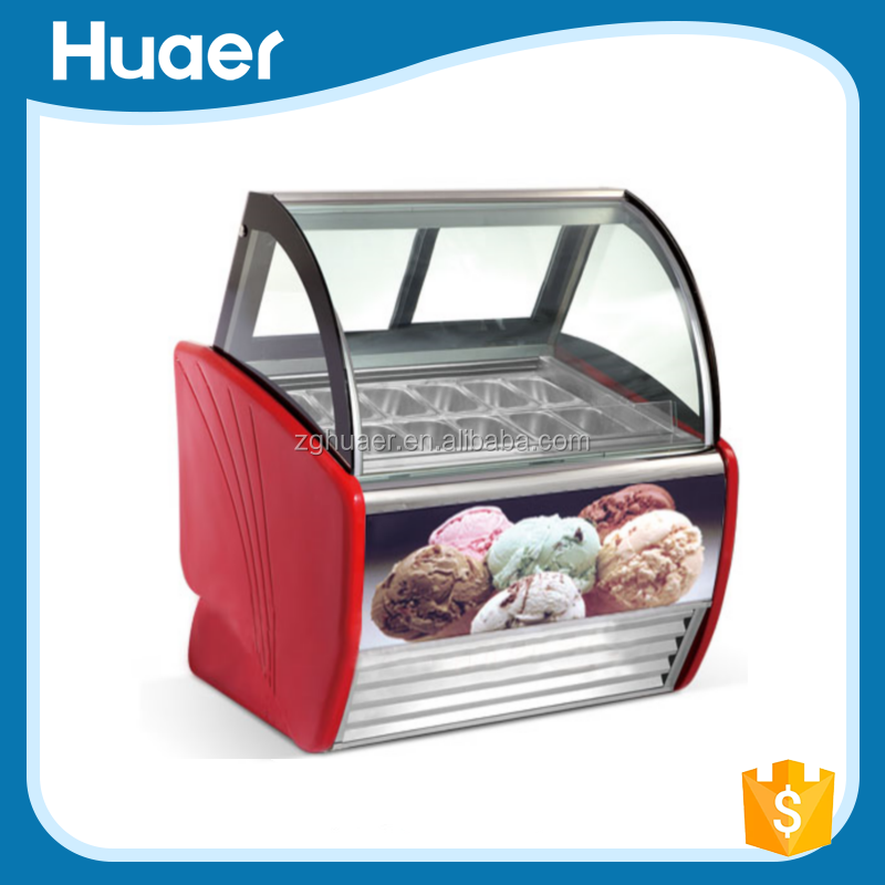 minmum temperature -25 degree ice cream display cabinet manufacture by China leading commercial refrigerator company