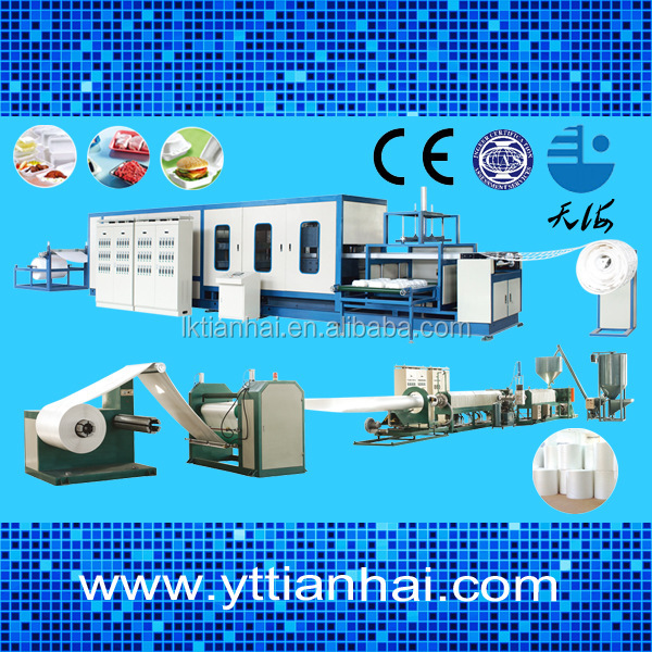 Plastic Foaming Machine To Produce the Foam Dishes