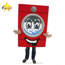 Funtoys CE Racing Washing Machine Mascot Costume for Advertising