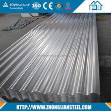Galvanized steel fiber pre-painted corrugated roof sheet