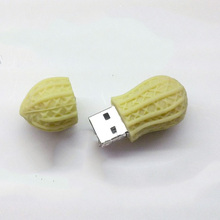 Promotional peanut usb memory stick, food shape usb flash drive 4gb