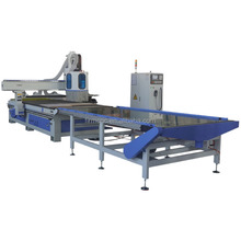 China auto nest load and unload cnc wood router with drilling head for panel furniture