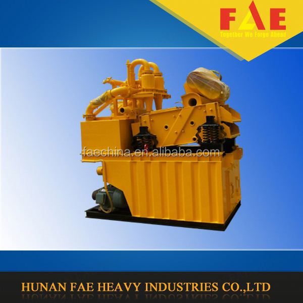 FA-250 mud recycling system for hydraulic double wheel milling