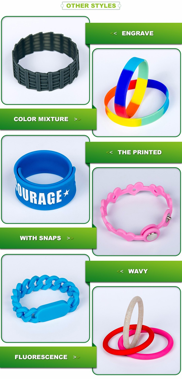 Custom silicone bracelet with logo, cool silicone wristband, bulk cheap silicone wristbands