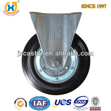 8 inch Rigid Heavy Duty Industrial Caster with Rubber wheel