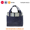 Hot-selling Picnic BBQ Food Multiple Pouch Multiuse Lunch Box Outdoor Navy Blue Tote Handbag
