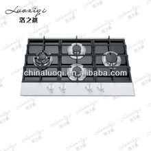 kitchen equipment 4 burner gas cooking cooker/stove/range/hob