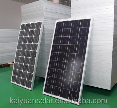 A-grade cell high efficiency 12v 60w pv solar panel price