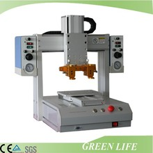 Fully automatic various needles 3 axis desktop dispensing robot for oil, grease, liquid