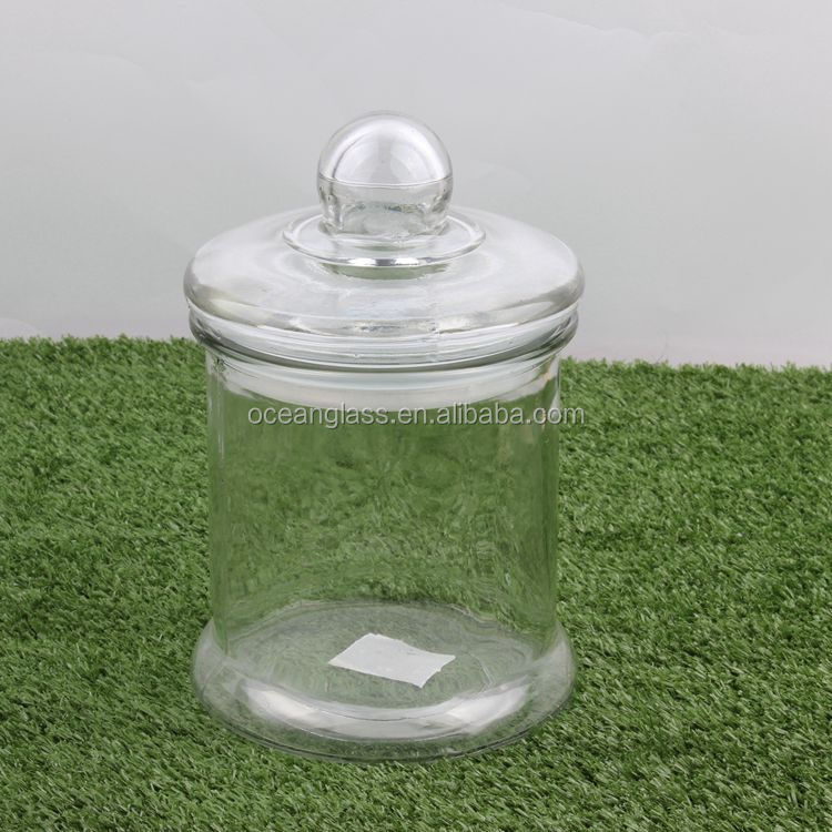 Wide Mouth Glass Mason Jar with Lid/Ferment & Store Kombucha Tea or Kefir/Use for Canning, Storing, Pickling & Preserving