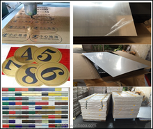 clear abs sheet,abs plastic sheet,laser engraving sheets