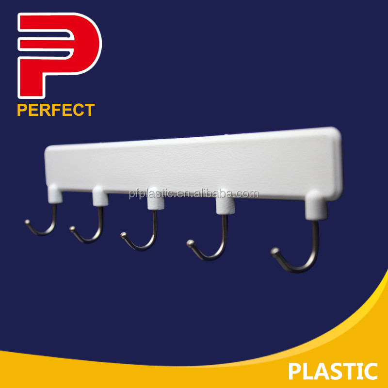 strong hold Plastic display hook picture hooks Removable Adhesive Utility wall stick Hook rack