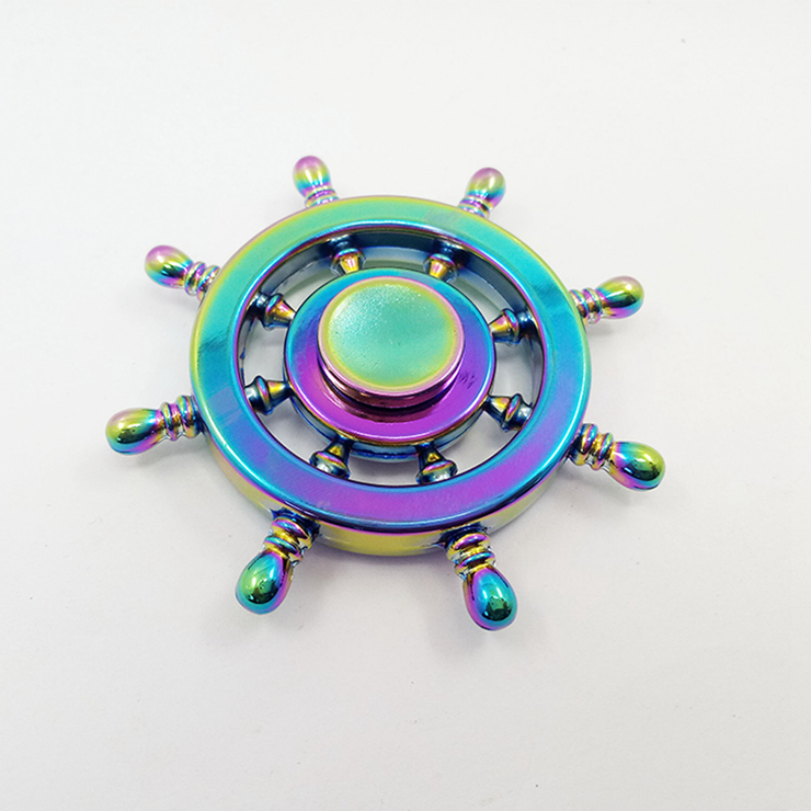 Spinner Fidget Special Type New Hot Toy EDC Hand Finger Spinner Desk Focus for Autism and ADHD fidget spinner rainbow color