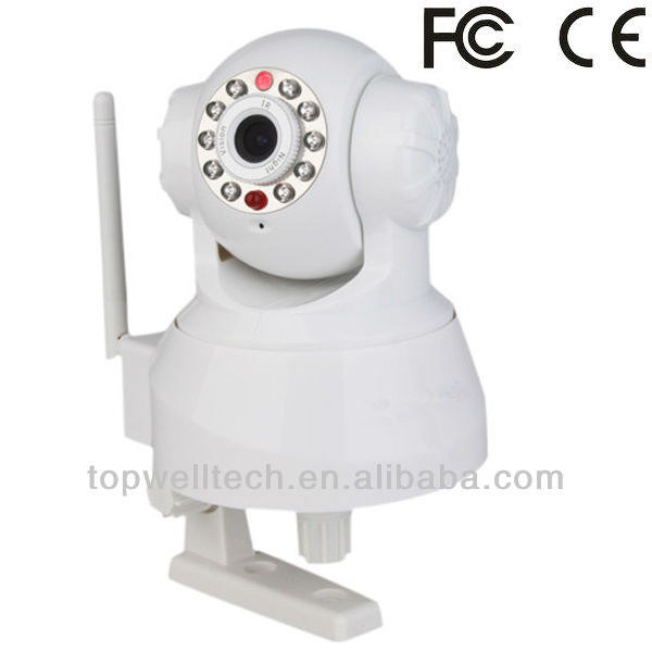 Wifi Pan/Tilt IP Camera With two way audio