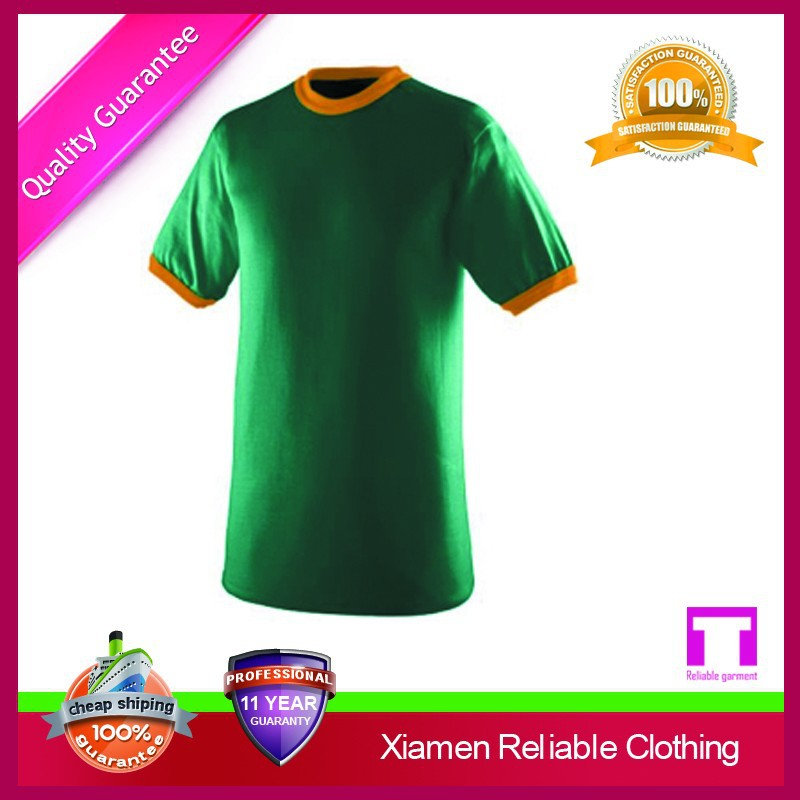 Good selling cheap different types of t shirts manufacturer