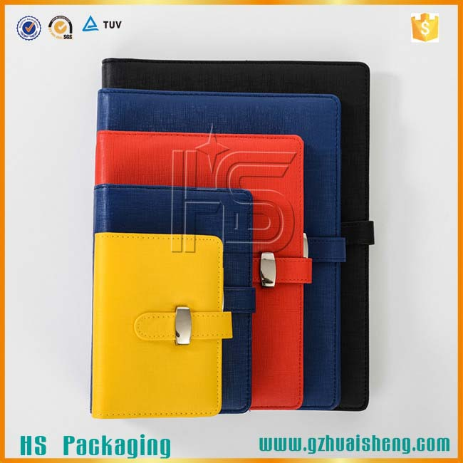 Colorful Cheap Custom Pu Leather Notebook / Fashionable Pu Leather Diary / Custom Leather Notebook
