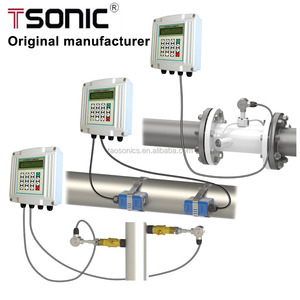 wholesale price wall mounted pipe type inline ultrasonic flow meter