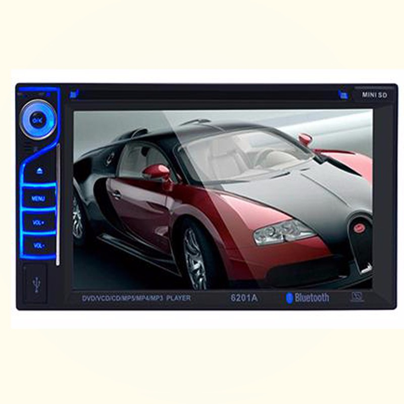 Full touch screen android auto radio 6.2inch car dvd 2din universal android car dvd player with 1.6GHz CPU Radio