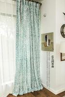 cotton curtain printed curtain valances drapery and curtain