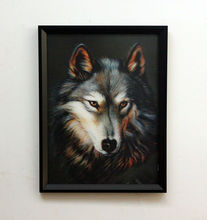 free sample animal wolf lenticular 3d picture making