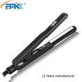 Custom Flat Iron with LCD display Nano Titanium Coating Plate Iron Perm