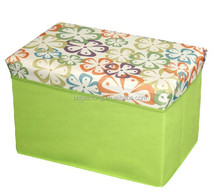 2016 Non woven Folded Storage Boxes/Foldable Storage Stool