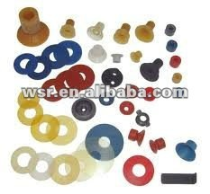 colorful molding rubber nozzle spares