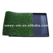 UW-DT-31 2012 special and functional waterpfoof dog toilet with artificial grass