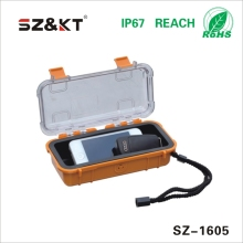 Small Plastic Equipment Case with Clear PC material