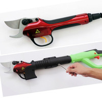 Electric pruner and electric pruning shear for garden and vineyard