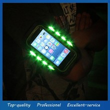 Cell Phone Sport Armband Case with LED Lighting for iPhone 5