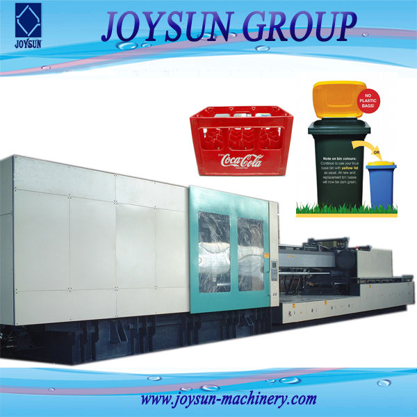 1250T model JSE-880 plastic drum Injection Molding Machine