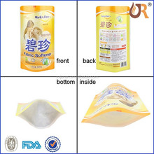 Cheap Wholesale Custom Printed Clear Laundry Detergent Bag