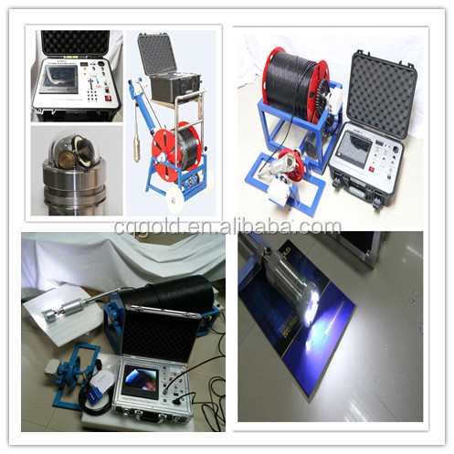 Colorful Borehole Inspection Camera, Water well camera and Underwater camera