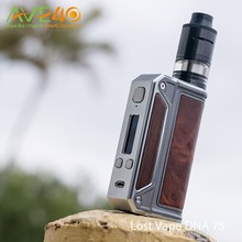 Newest Lost Vape Therion DNA75 Box Mod With Original Evolv DNA Chip Therion DNA 75