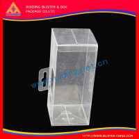Flawless finished custom customized plastic packaging box for hair products