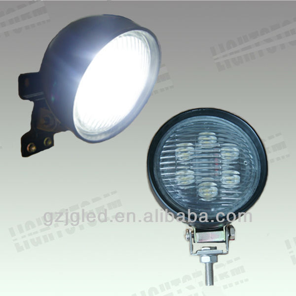 2013 Hot sale ! Rubber housing 18w led working light