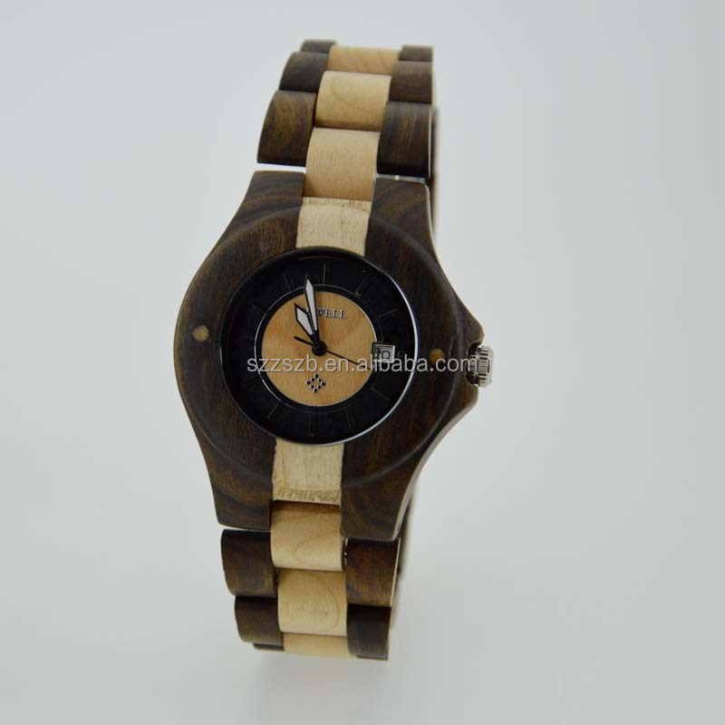 fashion accessories 2017 wooden wrist watches for men and women
