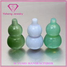 Chalcedony Nephrite Jade Rough Glass Bead Ball Stone Gems for Jewelry