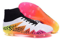 Hot Sales new high ankle football cleats 2015 customize soccer boots fashion new brand football Shoes