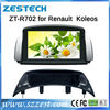 ZESTECH best price Car Dvd player for Renault Koleos Car Dvd player with GPS,buletooth,ipod,RDS,3G +factory
