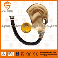 Full face anti gas mask with natural rubber material-Ayonsafety