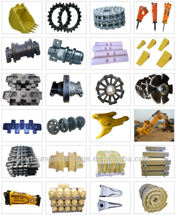 XCMG/XGMA/SHANTUI/SDLG/ZOOMLION Asphalt Paver Spare parts High quality and low price FRONT IDLER