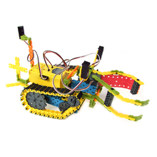 Designed in Korea ABS Material Self Assemble Toys Programmable Educational Robot Kit EQ Robot EQ2(Middle Course)