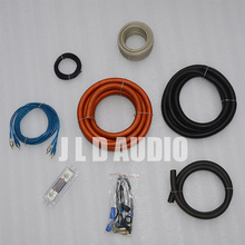 High Quality True spec from JLDAUDIO 1/0 gauge car audio installation wiring kit