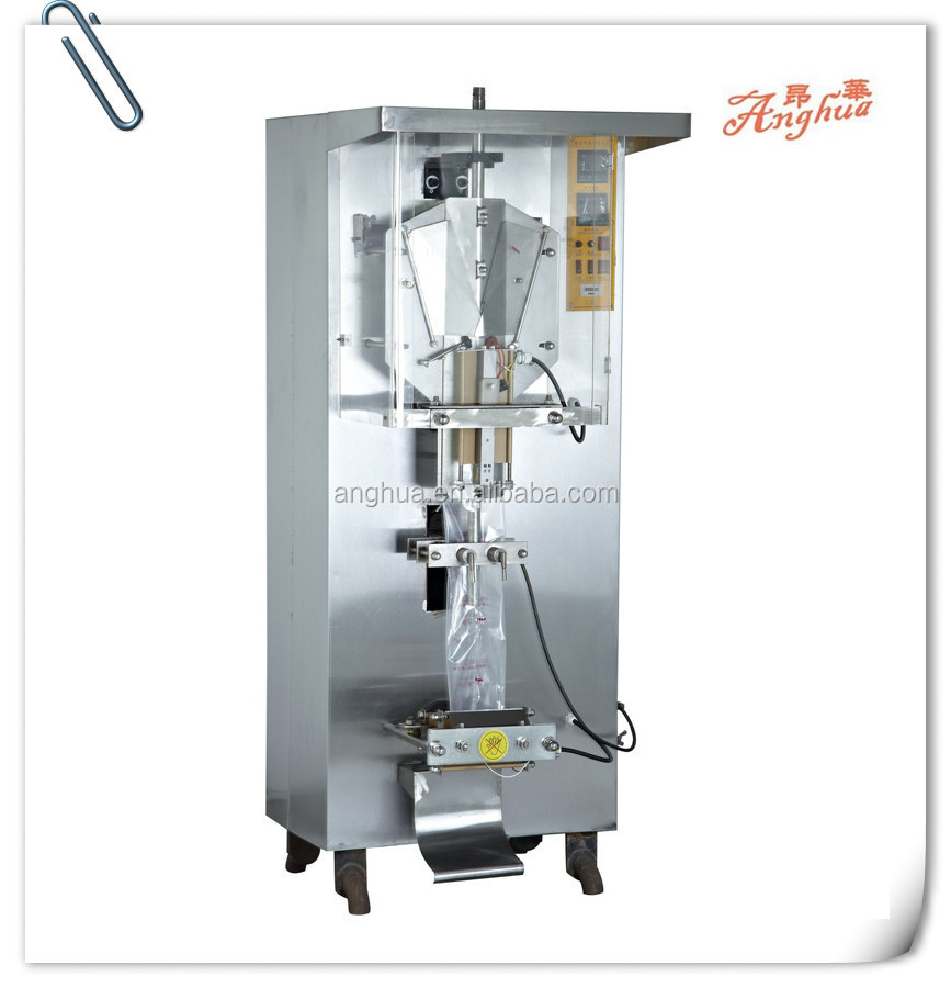 sachet liquid vertical filling and sealing machine